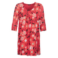 textil Mujer vestidos cortos One Step  Rojo