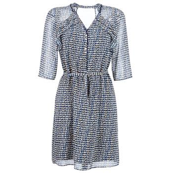 textil Mujer vestidos cortos One Step FLORUS Marino / Multicolor