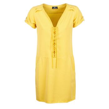 textil Mujer vestidos cortos One Step PATRICIA Amarillo