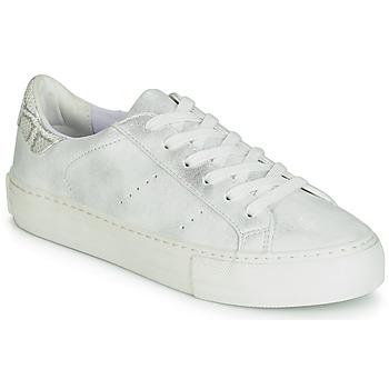 Zapatos Mujer Zapatillas bajas No Name ARCADE Blanco / Plateado