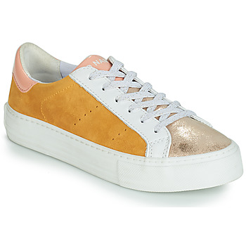 Zapatos Mujer Zapatillas bajas No Name ARCADE Blanco / Oro / Amarillo