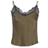 textil Mujer Tops / Blusas Ikks BN11105-56 Kaki