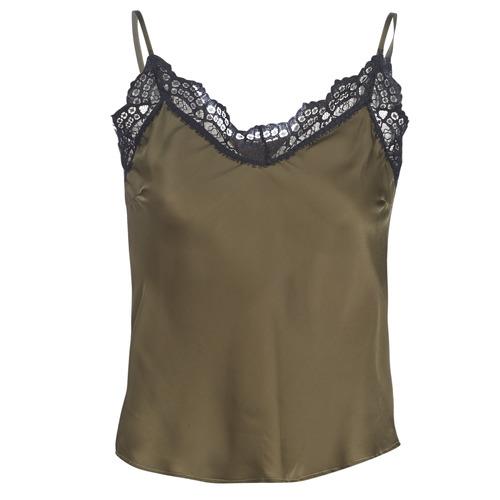 Ikks BN11105-56 Kaki - Envío gratis | ! - textil blusas Mujer