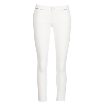 textil Mujer vaqueros slim Ikks BN29135-11 Blanco