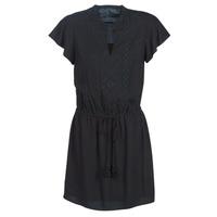 textil Mujer vestidos cortos Ikks BN30035-02 Negro