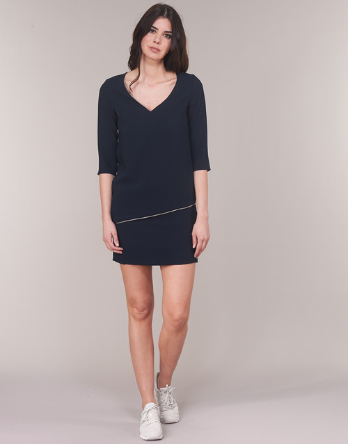 Vestidos 49 Cortos Ikks Textil Bn30305 Marino Mujer UzVSpM