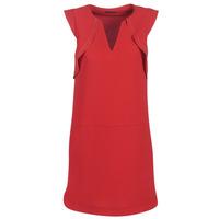 textil Mujer vestidos cortos Ikks BN31075-36 Rojo