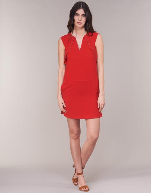 Rojo Vestidos Bn31075 36 Textil Ikks Mujer Cortos zMqGSVUp