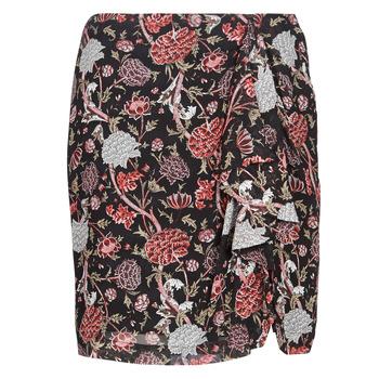 textil Mujer Faldas Ikks BN27105-02 Negro / Multicolor