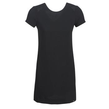 textil Mujer vestidos cortos Ikks BN30105-02 Negro