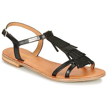 Zapatos Mujer Sandalias Les Tropéziennes par M Belarbi BELIE Negro