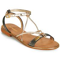 Zapatos Mujer Sandalias Les Tropéziennes par M Belarbi HIRONDEL Negro