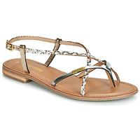 Zapatos Mujer Sandalias Les Tropéziennes par M Belarbi MONATRES Blanco / Oro