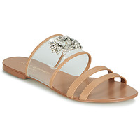Zapatos Mujer Zuecos (Mules) KG by Kurt Geiger PIA VINYL SANDAL Camel
