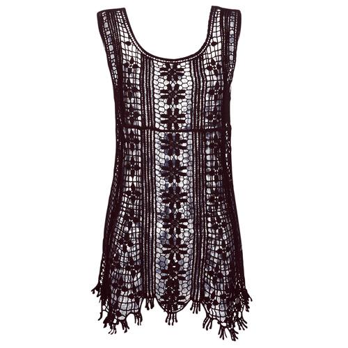 Banana Moon JOSY DREAMLAND Negro - Envío gratis   ! - textil vestidos cortos Mujer