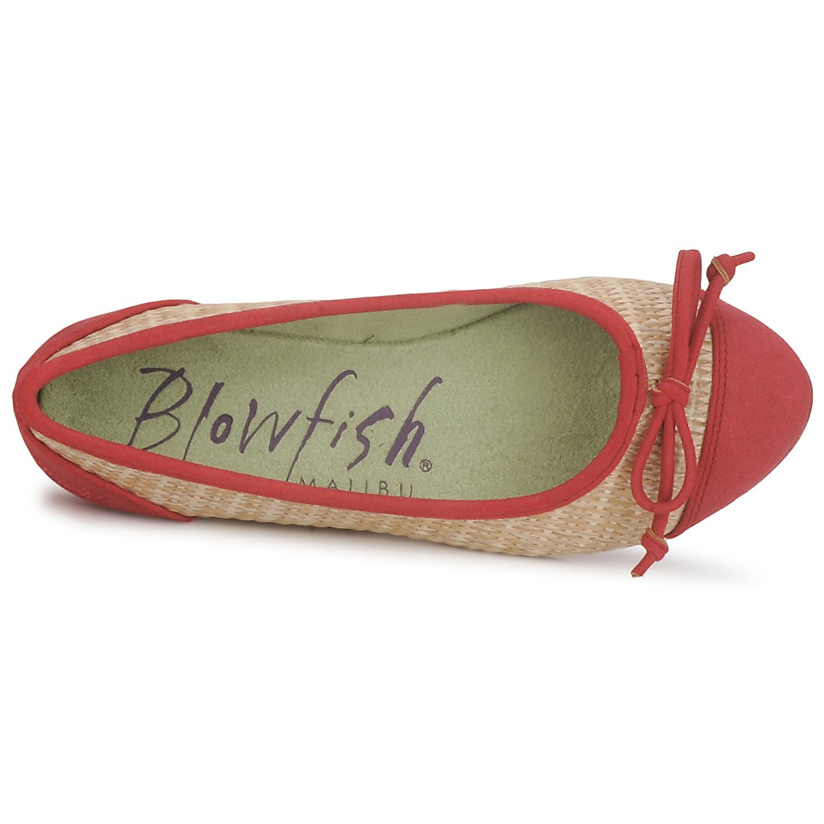 Blowfish Blowfish Blowfish Malibu NITA Rojo -  Nueva promoción - Zapatos Bailarinas Mujer 1769ae