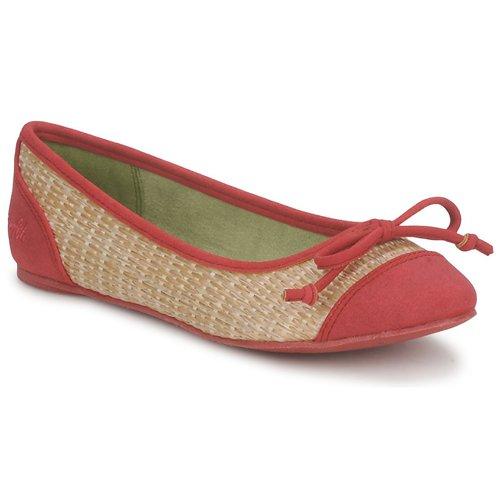 Zapatos Mujer Bailarinas-manoletinas Blowfish Malibu NITA Rojo