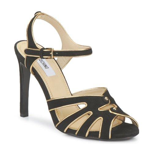 Zapatos Mujer Sandalias Moschino MA1604 Negro