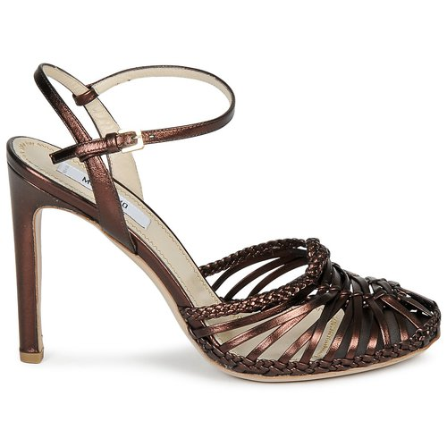 Ebano Zapatos Mujer Moschino Sandalias Ma1603 PuTwZOkXi