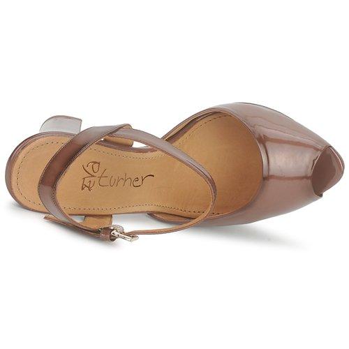 Zapatos Eva Ersilia Turner Mujer Sandalias Marrón zpVjLqSMUG