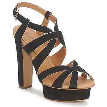 Zapatos Mujer Sandalias Eva Turner LIVIA Negro