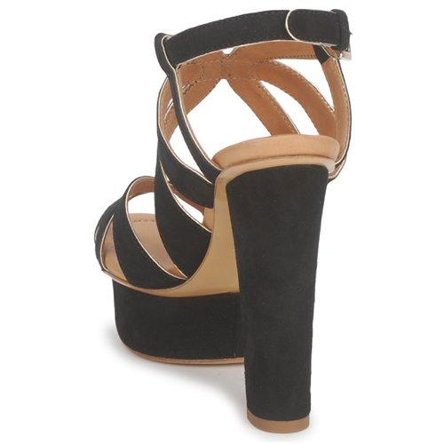 Negro Mujer Livia Eva Zapatos Sandalias Turner 9IYDHWE2