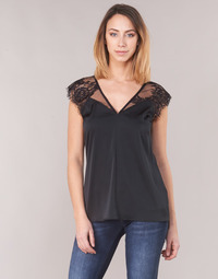 textil Mujer Tops / Blusas Guess MARTINA Negro