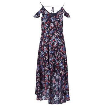 textil Mujer vestidos largos Guess BORA Negro / Multicolor