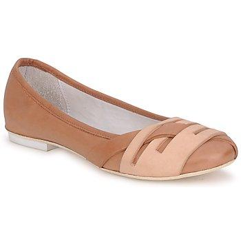 Zapatos Mujer Bailarinas-manoletinas Marithé & Francois Girbaud BOOM Cognac