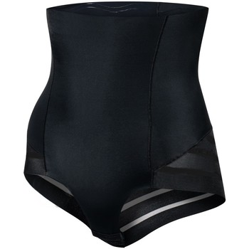 Ropa interior Mujer Bragas moldeadoras Julimex 141 MESH NOIR Negro