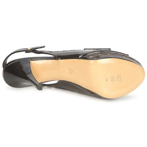 Chic Cheapamp; Ca1606 Negro Zapatos Mujer Moschino Sandalias TXZuwkOPi