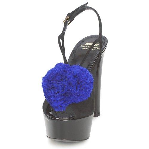 Moschino Chic Sandalias Ca1608 AzulKlein Mujer Zapatos Cheapamp; Negro y0nvNwm8O