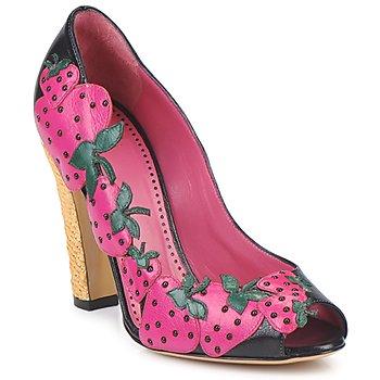 Zapatos Mujer Zapatos de tacón Moschino Cheap & CHIC ALBIZIA Rosa negro verde