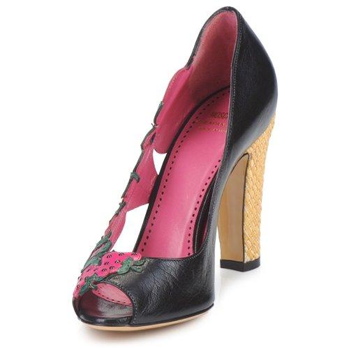 Zapatos Rosa De Negro Verde Moschino Mujer Albizia Cheapamp; Tacón Chic PTXiwOkZu