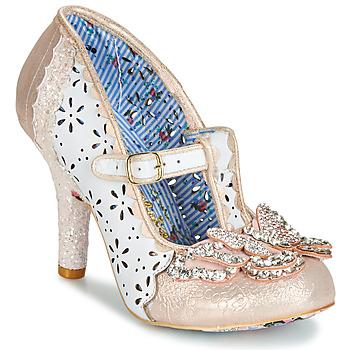 Zapatos Mujer Zapatos de tacón Irregular Choice PAPILLON Blanco