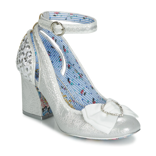 Mujer Tacón Plata De Irregular Deity Zapatos Choice TF3J1Kulc