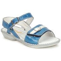 Zapatos Niña Sandalias GBB CARAIBES FIZZ Azul / Blanco