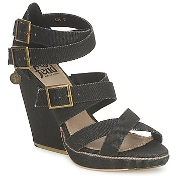 Zapatos Mujer Sandalias Feud WASP Negro