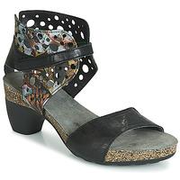 Zapatos Mujer Sandalias Think ZEG Negro