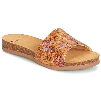 Zapatos Mujer Zuecos (Mules) Think TANA Marrón