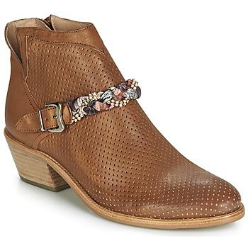 Zapatos Mujer Botas de caña baja Muratti DENISETTE Cognac