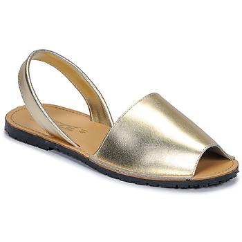 Zapatos Mujer Sandalias So Size LOJA Oro