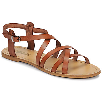 Zapatos Mujer Sandalias So Size IDITRON Marrón