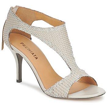 Zapatos Mujer Sandalias Premiata 2834 LUCE Crema