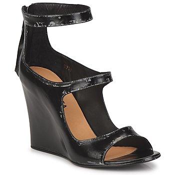 Zapatos Mujer Sandalias Premiata 2830 LUCE Negro