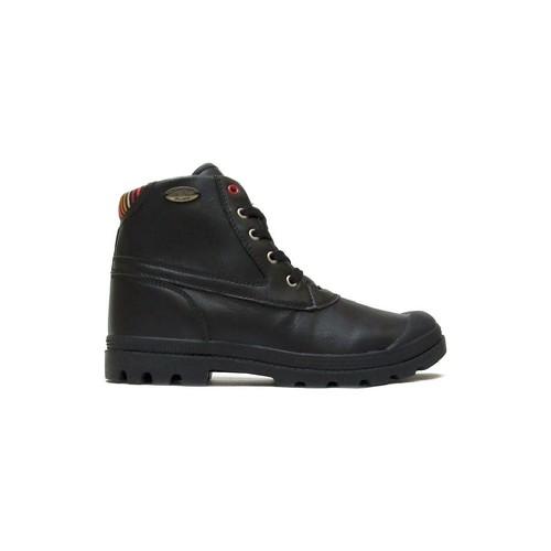 Zapatos Mujer Botas de caña baja Little Marcel Bottines Presto H14IGC010 Noir Negro