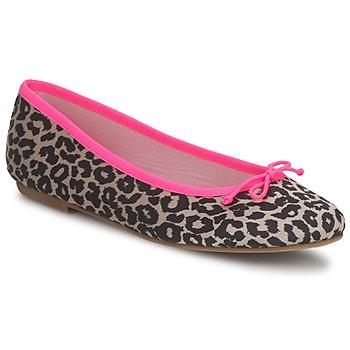 Zapatos Mujer Bailarinas-manoletinas Cara NEONLEOPARD Leopardo