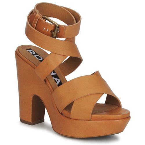 Tiempo limitado especial Rochas RO18082 Marrón - Envío gratis Nueva promoción - Zapatos Sandalias Mujer  Marrón