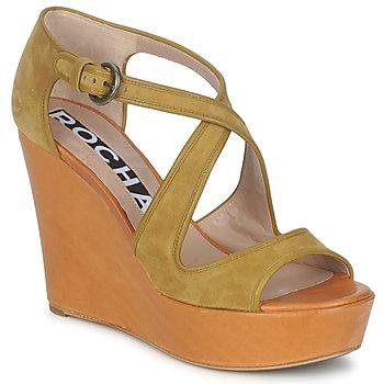 Zapatos Mujer Sandalias Rochas RO18131 Marrón