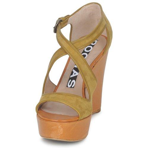 Mujer Ro18131 Sandalias Zapatos Rochas Marrón VpzUGLjqSM